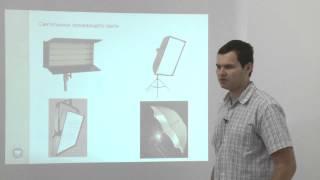 Освещение в студии: осветительные приборы и варианты их размещения