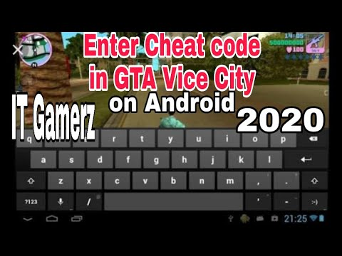 How to Enter Cheat Code in Gta vice city on Android full ...