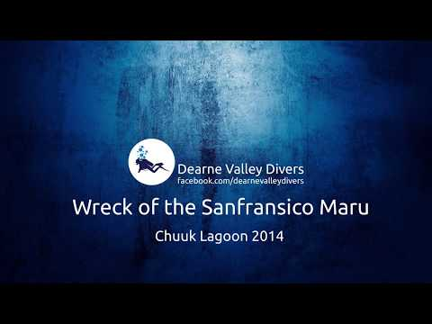Wreck Of The Sanfransico Maru