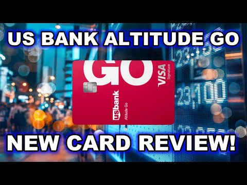 NEW US Bank Altitude Go (4X Dining, No Annual Fee)
