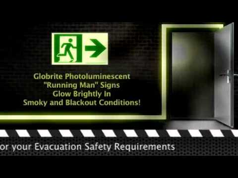 Photoluminescent Fire Safety Signs & The International Fire Codes And Building Codes