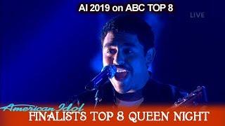"Download Alejandro Aranda ""Under Pressure"" His Own Arrangement Queen Night | American Idol 2019 Top 8 Mp3 and Videos"