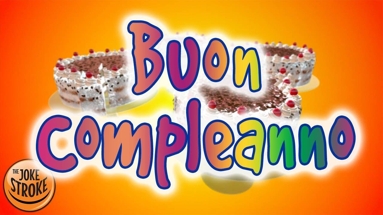 abbastanza Buon compleanno - Torta di compleanno valzer - YouTube BD56