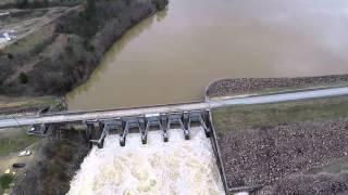 Weiss Lake Diversion Dam - Flood 2015