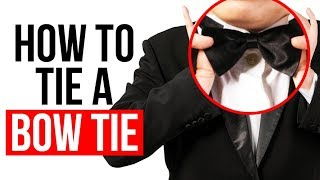 EASILY Tie A Bow Tie | Quick Bow-Tie Video Tutorial