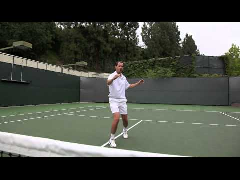 THE BACKHAND VOLLEY