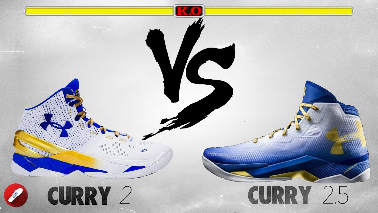 under armour 2 5. under armour curry 2 vs 2.5! 5
