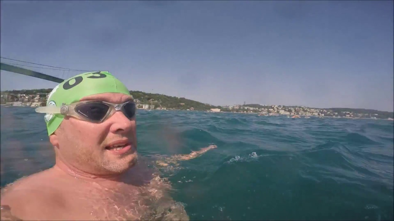 The 3 SWIMS of Europe (part 3) the Bosphorus