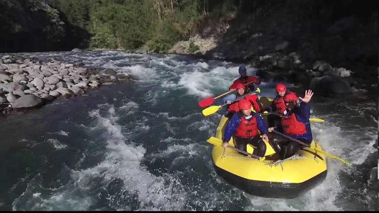 tongariro river rafting grade 3 whitewater youtube