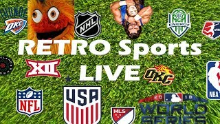 RETRO Sports LIVE - 11/16/2018
