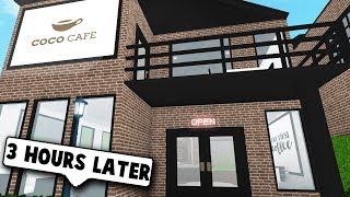 OPENING UP A COFFEE SHOP! *RENOVATING* (Roblox Bloxburg) | Roblox Roleplay