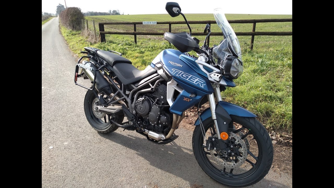 2019 Triumph Tiger 800 Xrt Review Youtube