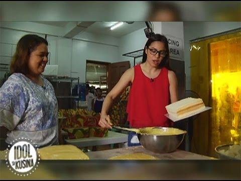Ang yema cake ng Quezon