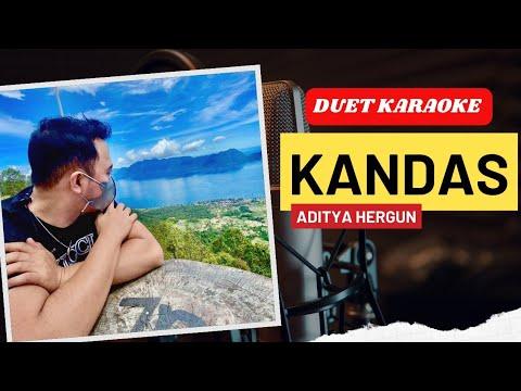 KANDAS Dangdut Duet Karaoke   Smule Aditya Hergun Merdu Banget Suaranya.