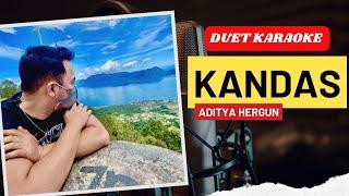 Gambar cover KANDAS dangdut duet karaoke | smule aditya hergun merdu banget suaranya.