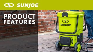 24V-X2-PW1200 - Sun Joe 48-Volt ION Cordless Portable Pressure Washer - Product Features