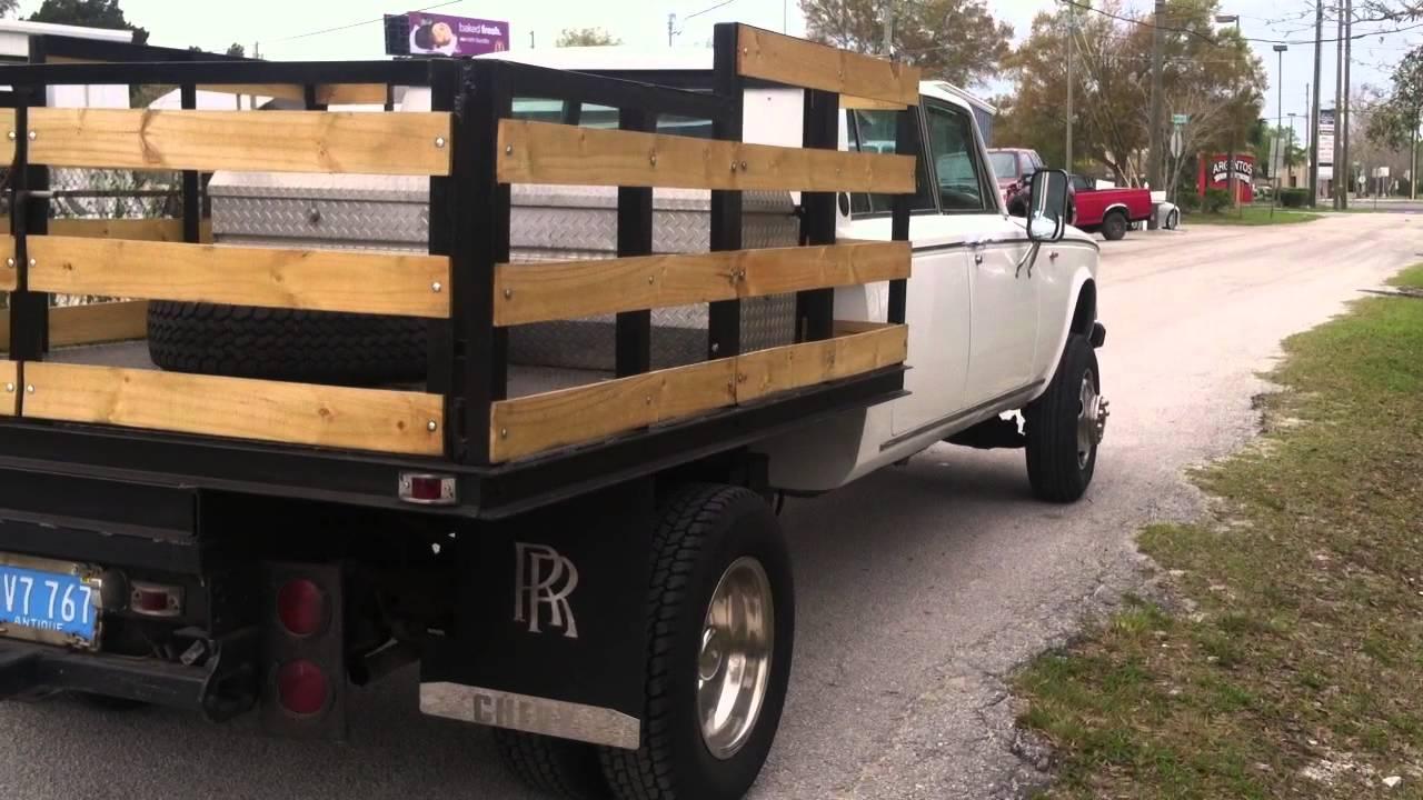Rolls Royce 1 Ton Dually Pickup Truck - YouTube
