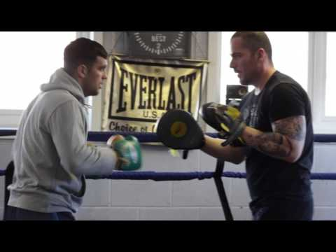 Jack Catterall: Training Session With Lee Beard | Pads.