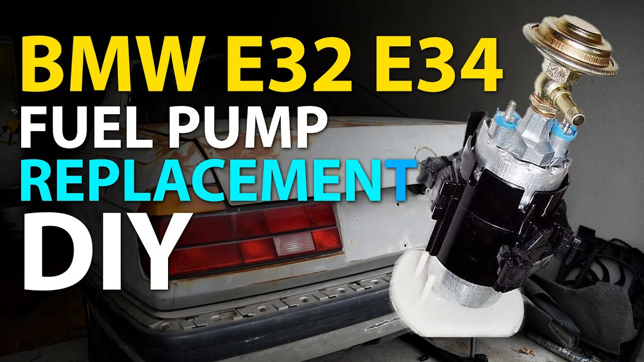 medium resolution of bmw e32 e34 fuel pump replacement diy