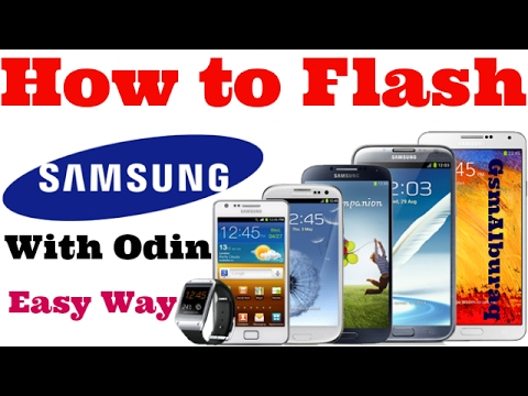 How to Flash Samsung Mobiles with Odin,Samsung Flashing without Device