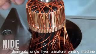 manual armature winding machine