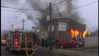 Fatal House Fire in Philadelphia PA 01/13/13