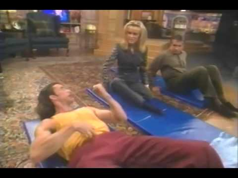 Scott Cole Teaches Abs Of Steel To George Hamilton And Alana Stewart