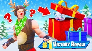 999 IQ VERSTECK in Fortnite XMAS HIDE and SEEK!
