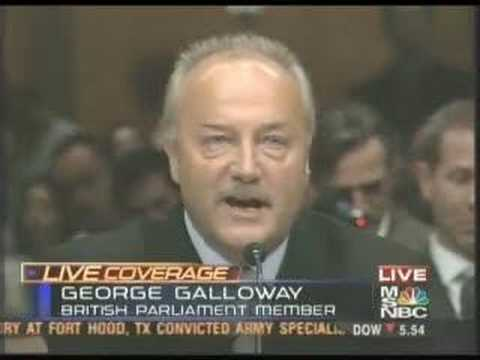 George Galloway vs. U.S Senate (5/17/05)