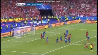 Franciaország 0-1 Portugália: Gereiro kapufa