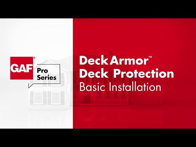 GAF   Deck-Armor™