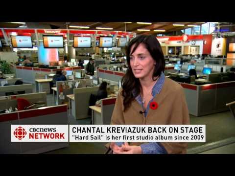 CBC News Network's Ian Hanomansing interviews Chantal Kreviazuk