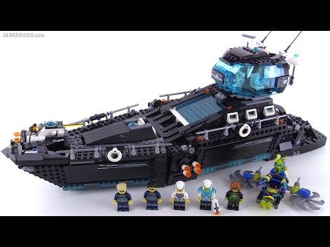 LEGO Ultra Agents Ocean HQ review! set 70173