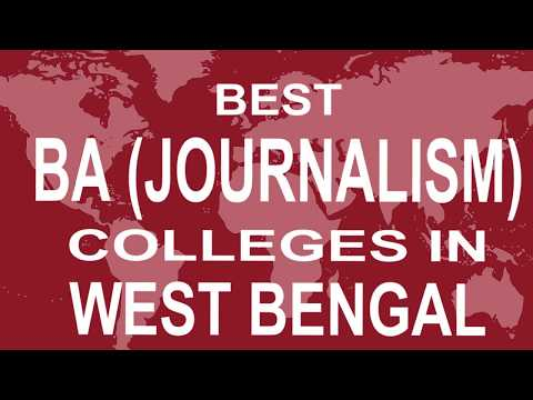 Best BA Journalism Colleges And Courses In West Bengal