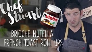 Nutella French Toast Roll Ups, Quick 6 Fix