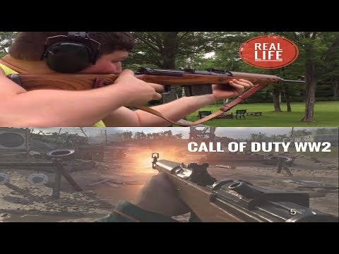 Call Of Duty WW2 Gun Sounds VS Real Life