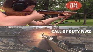 Call of Duty WW2 Gun Sounds VS Real Life