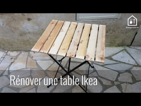 tuto r nover une table de jardin ikea bricolage facile youtube. Black Bedroom Furniture Sets. Home Design Ideas