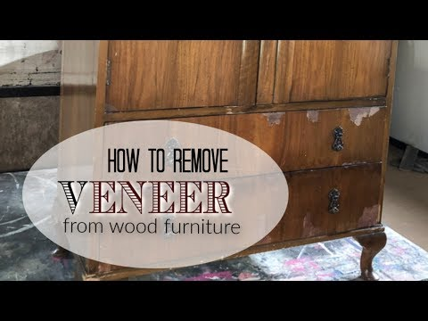 how-to-remove-wood-veneer-from-old-furniture