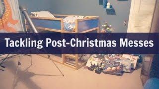Tackling Post-Christmas Messes {12/27/16 Vlog}