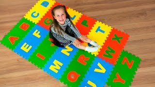 ABC Song Learn English Alphabet for Kids with Nursery Rhyme
