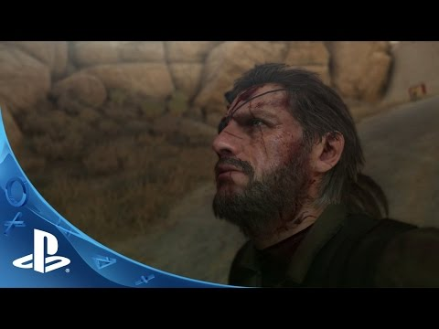 METAL GEAR SOLID V: The Phantom Pain - Launch Trailer | PS4