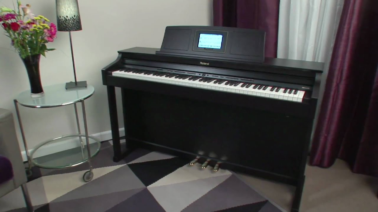 HPi 7F HPi 6F Digital Piano Overview