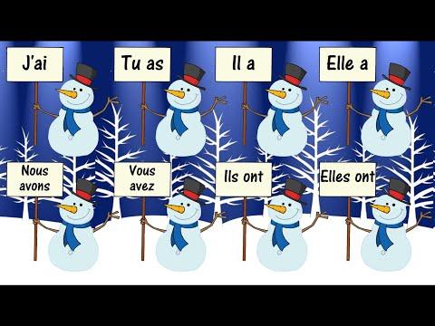 AVOIR Verb Song (To Have) - La Conjugaison du Verbe Avoir en Chanson - Learn French