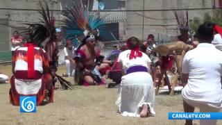 Celebran equinoccio de primavera en Los Reyes La Paz