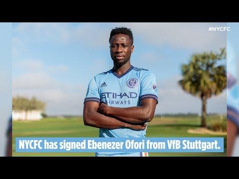 NYCFC Sign Ebenezer Ofori