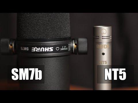 Rode NT5 vs Shure SM7b (acoustic guitar) (pt.1)
