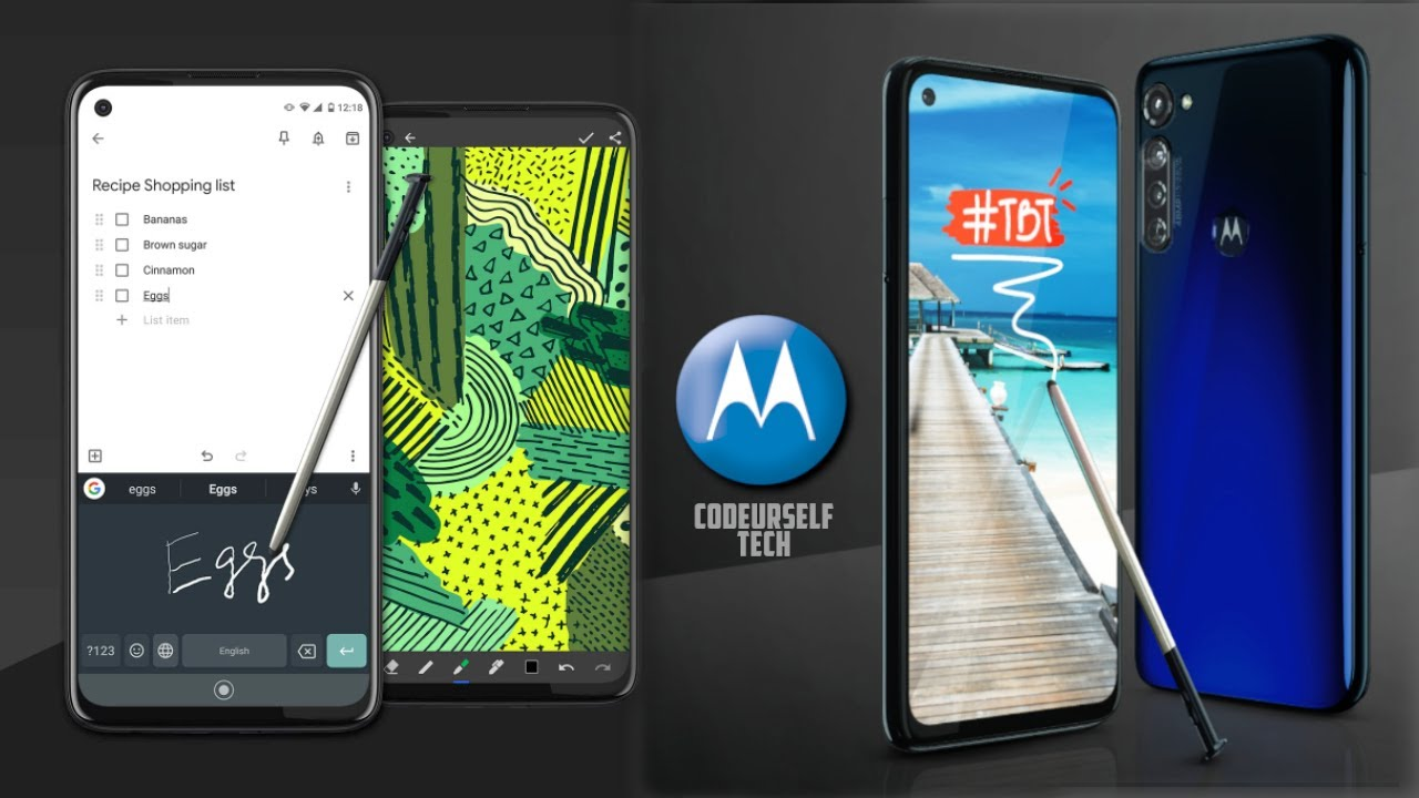48MP Motorola Moto G Stylus, Launched, Price, Full Specifications, Much More Details (In English)