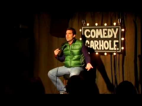 Rob Delaney in a Garage - twitter.com/robdelaney
