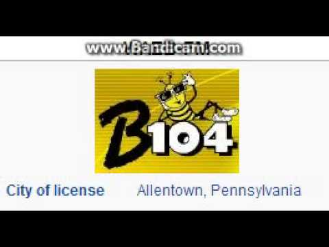 WAEB-FM 104.1 B104 Allentown, PA TOTH ID at 4:00 p.m. 7/5/20